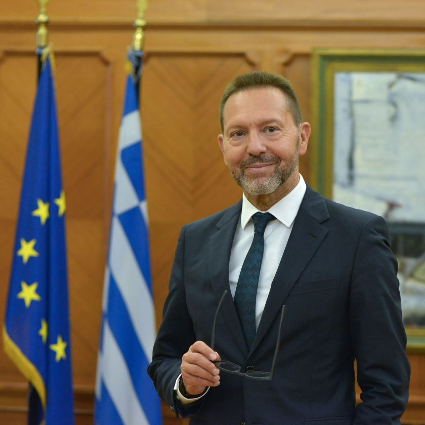 The Governor of the Bank of Greece Yannis Stournaras. © Bank of Greece
