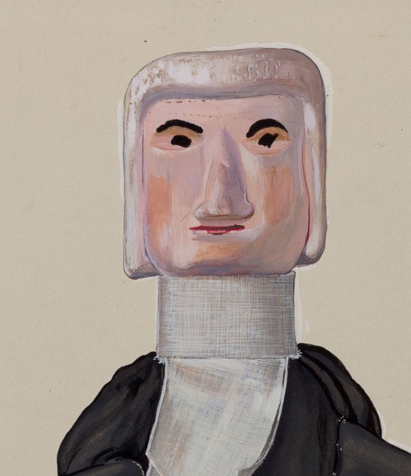 Beverly Chichester, Judge Hand Puppet, c. 1936, National Gallery of Art.